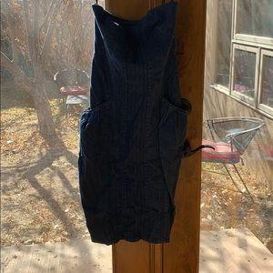 Kensie denim tube dress
